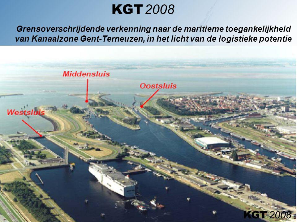 KGT 2008 Grensoverschrijdende verkenning naar de maritieme toegankelijkheid van Kanaalzone Gent-Terneuzen, in het licht van de logistieke potentie.