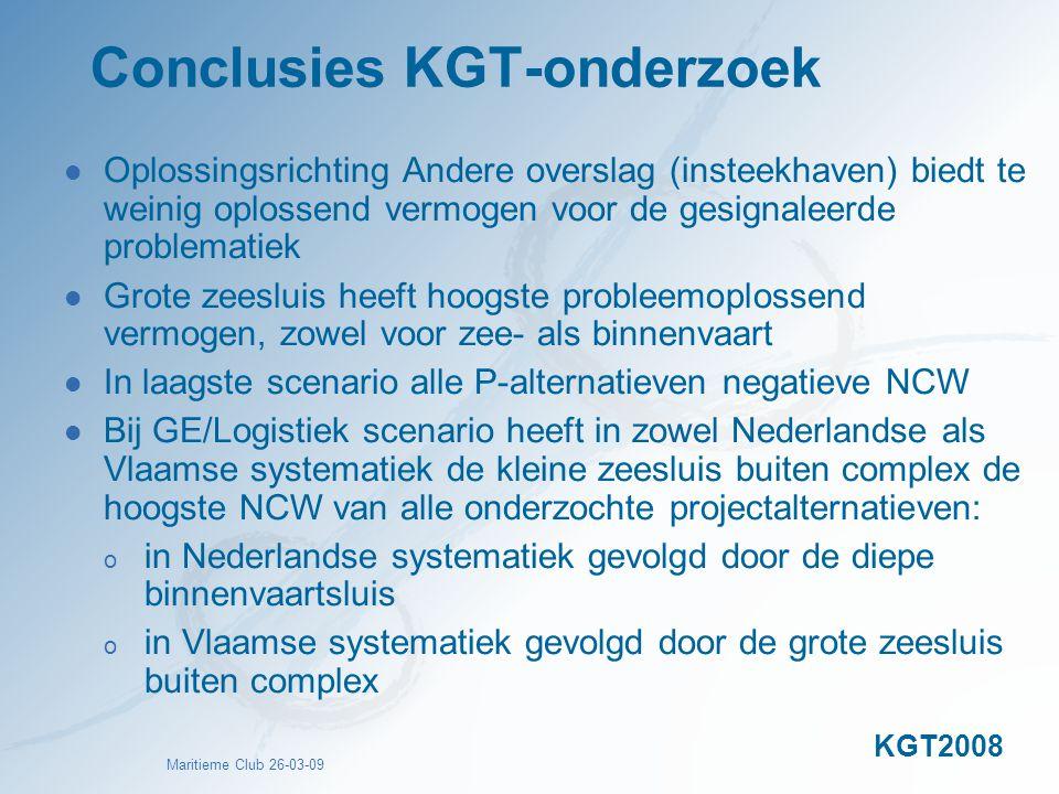 Conclusies KGT-onderzoek