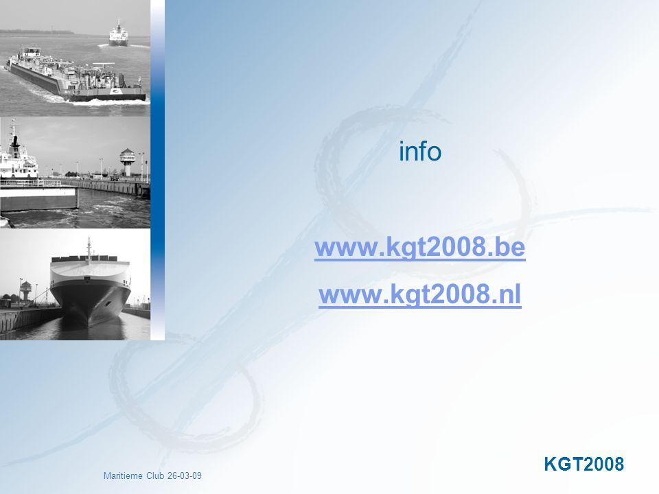 info www.kgt2008.be www.kgt2008.nl