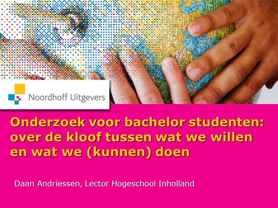 Daan Andriessen, Lector Hogeschool Inholland