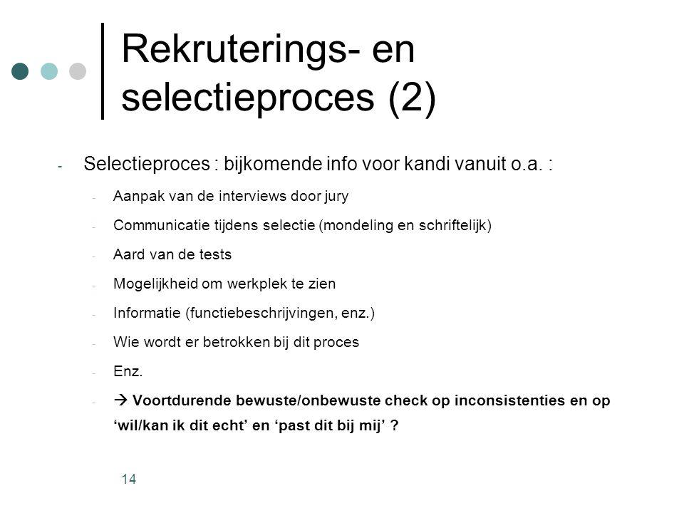 Rekruterings- en selectieproces (2)