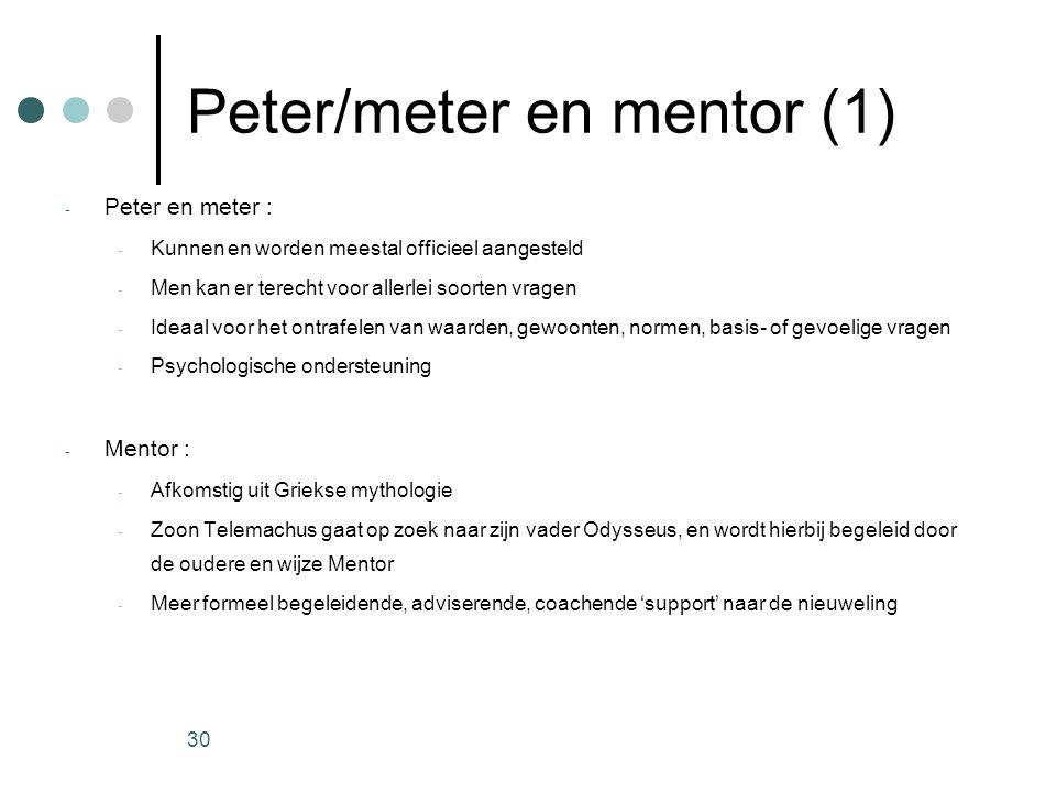 Peter/meter en mentor (1)