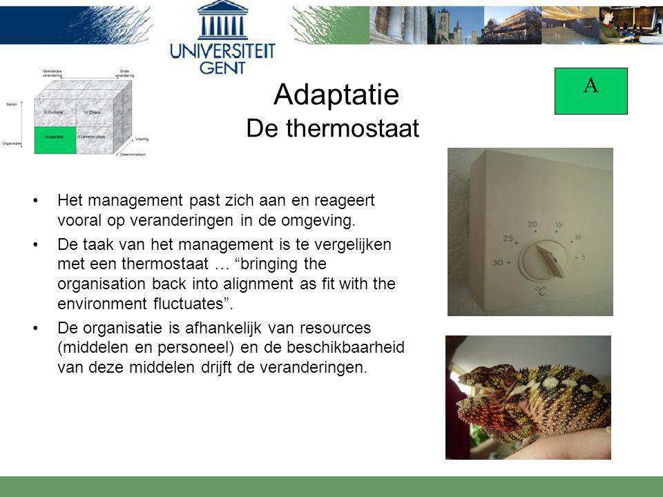 Adaptatie De thermostaat
