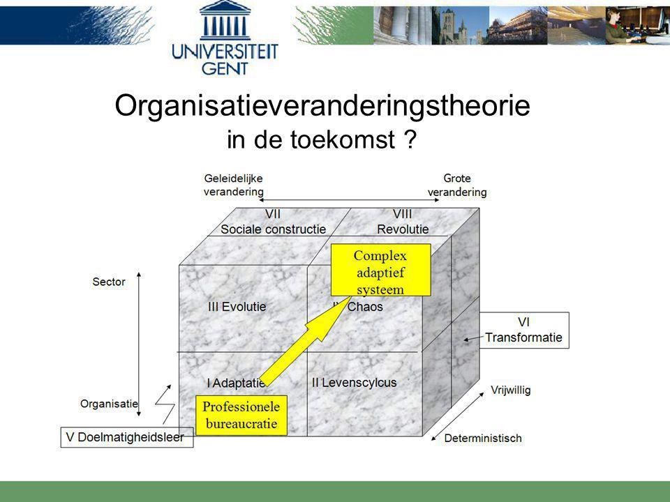 Organisatieveranderingstheorie in de toekomst