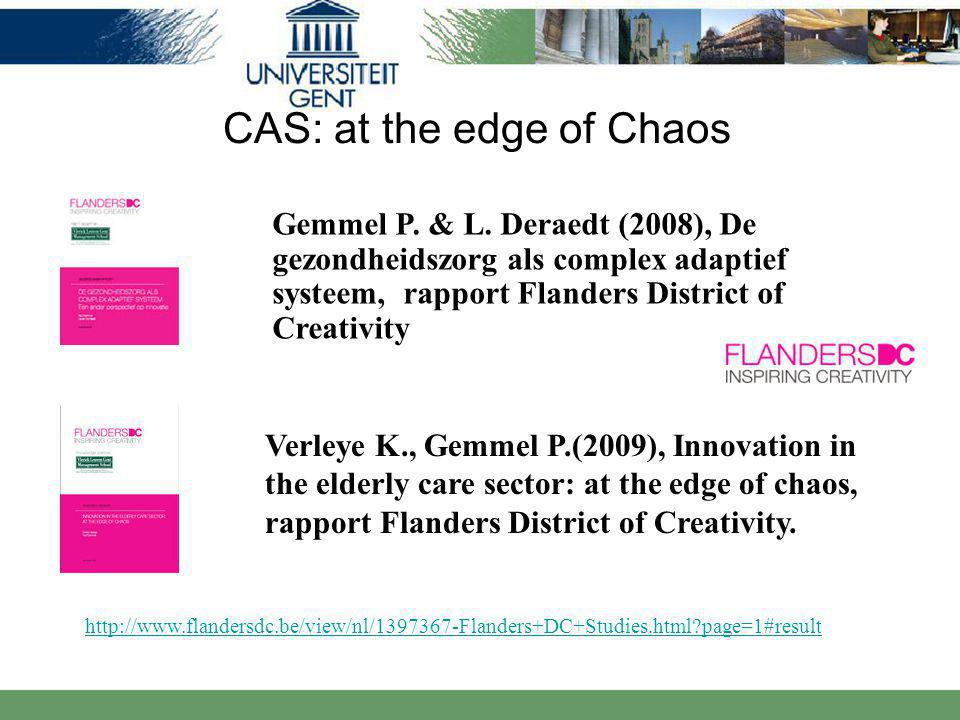 CAS: at the edge of Chaos
