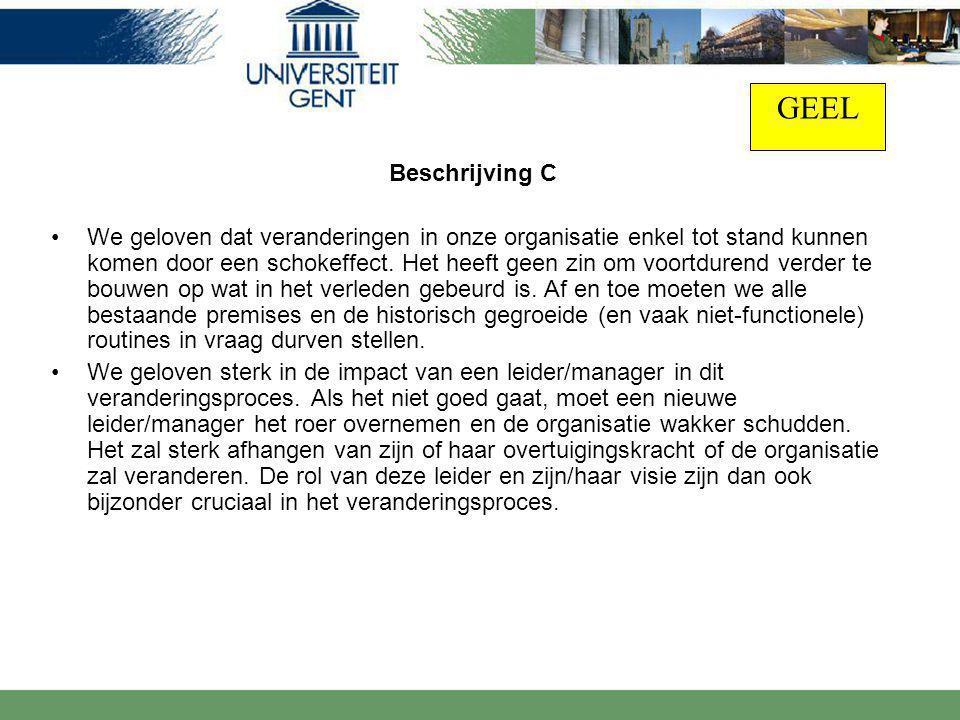 GEEL Beschrijving C.