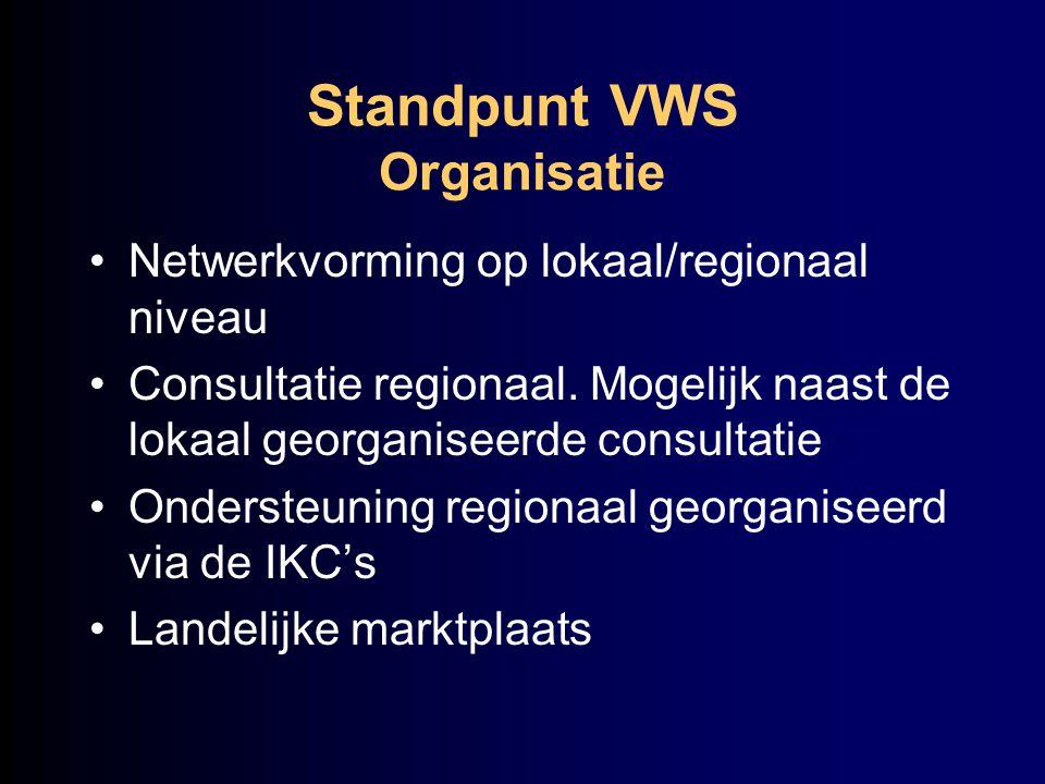 Standpunt VWS Organisatie