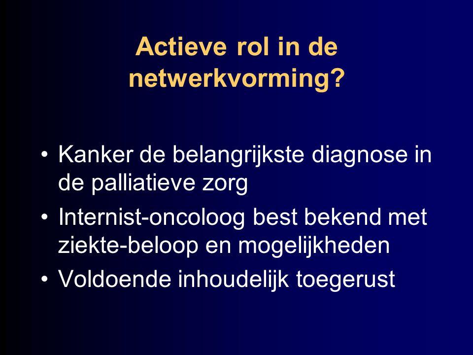 Actieve rol in de netwerkvorming