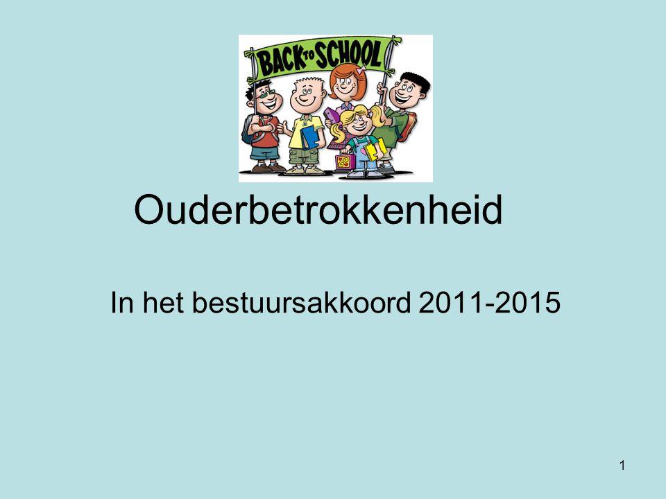 In het bestuursakkoord 2011-2015