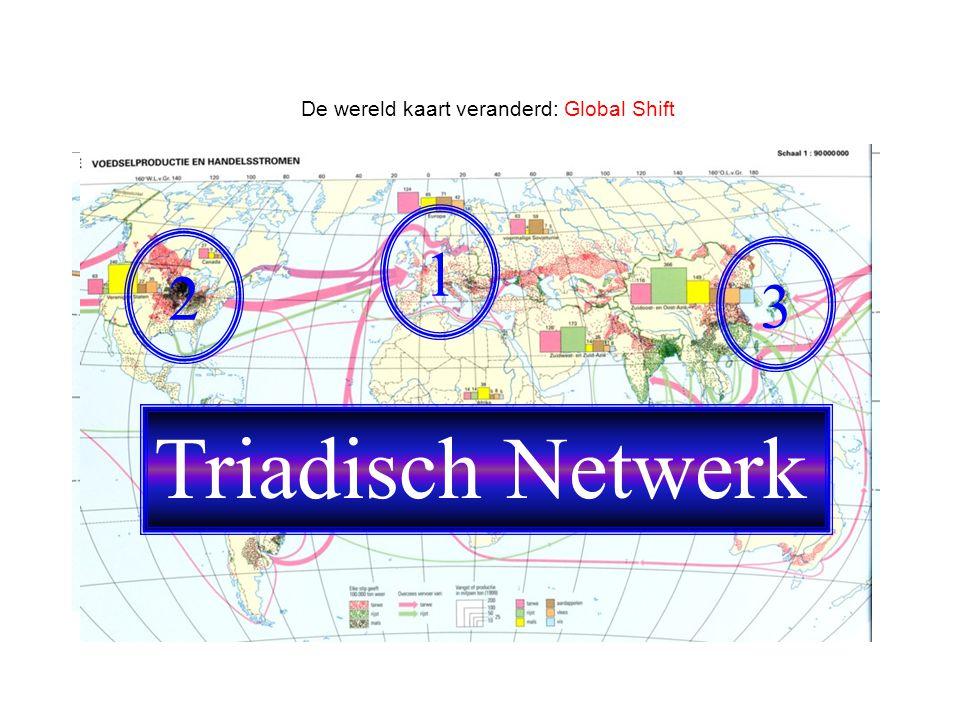 De wereld kaart veranderd: Global Shift