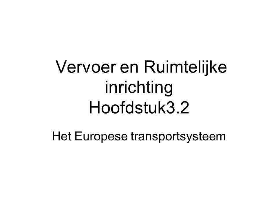 Vervoer en Ruimtelijke inrichting Hoofdstuk3.2