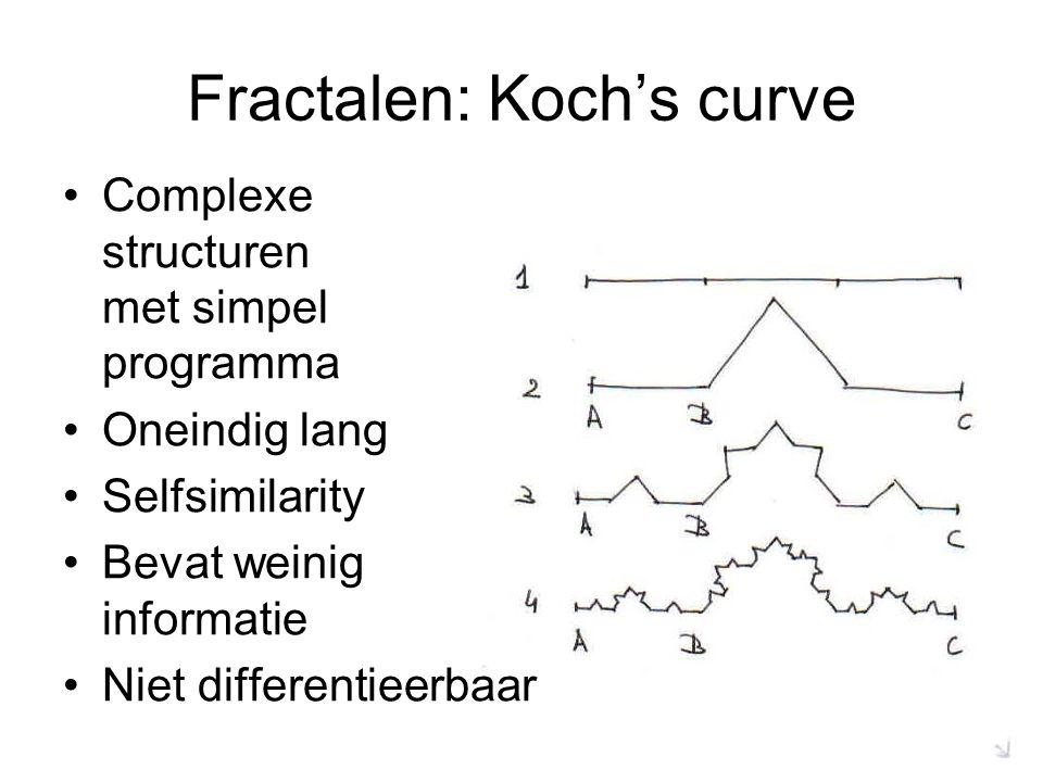 Fractalen: Koch's curve