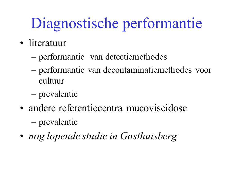 Diagnostische performantie