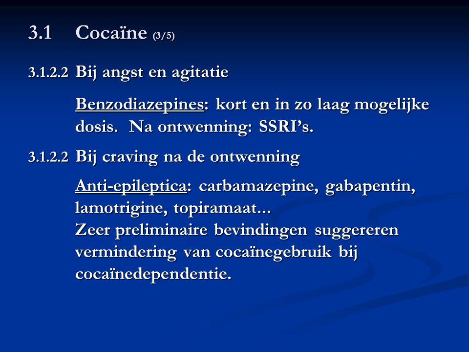 Benzodiazepines: kort en in zo laag mogelijke