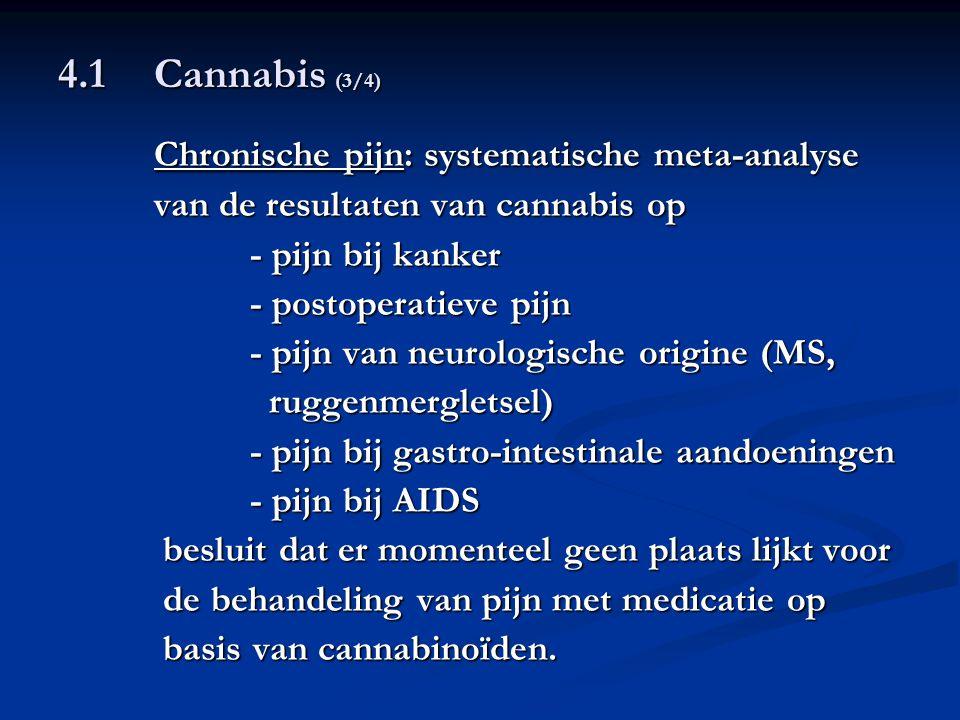 Chronische pijn: systematische meta-analyse
