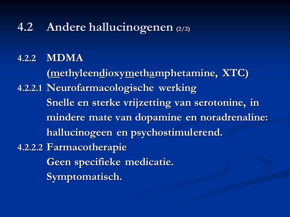 4.2 Andere hallucinogenen (2/2)