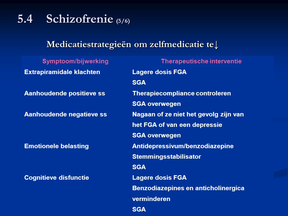 Therapeutische interventie
