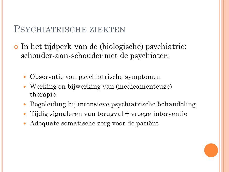Psychiatrische ziekten