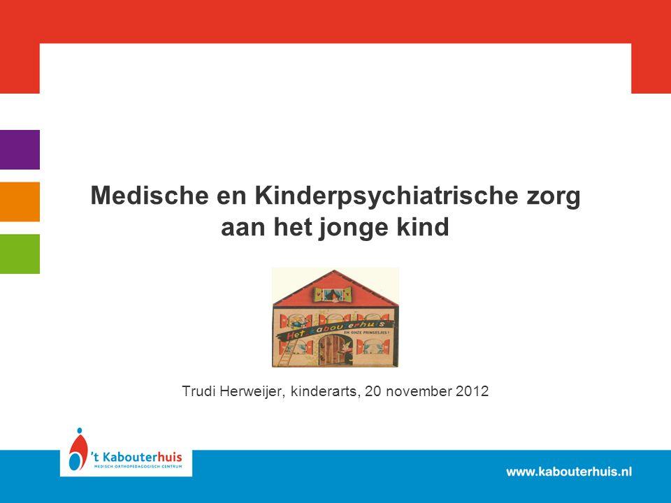 Medische en Kinderpsychiatrische zorg aan het jonge kind