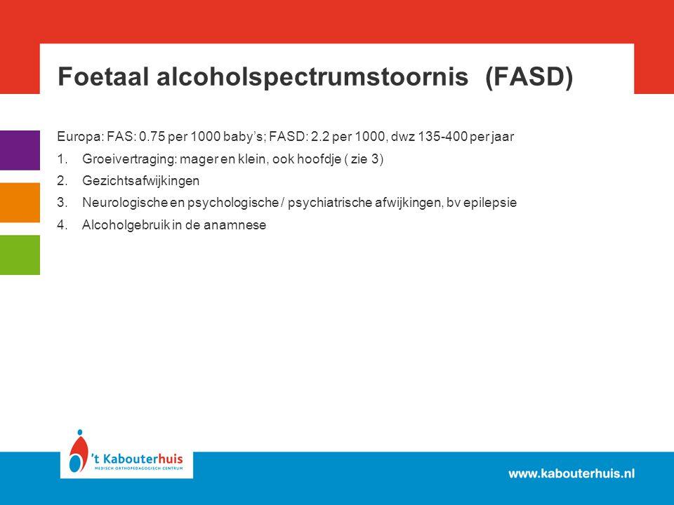 Foetaal alcoholspectrumstoornis (FASD)