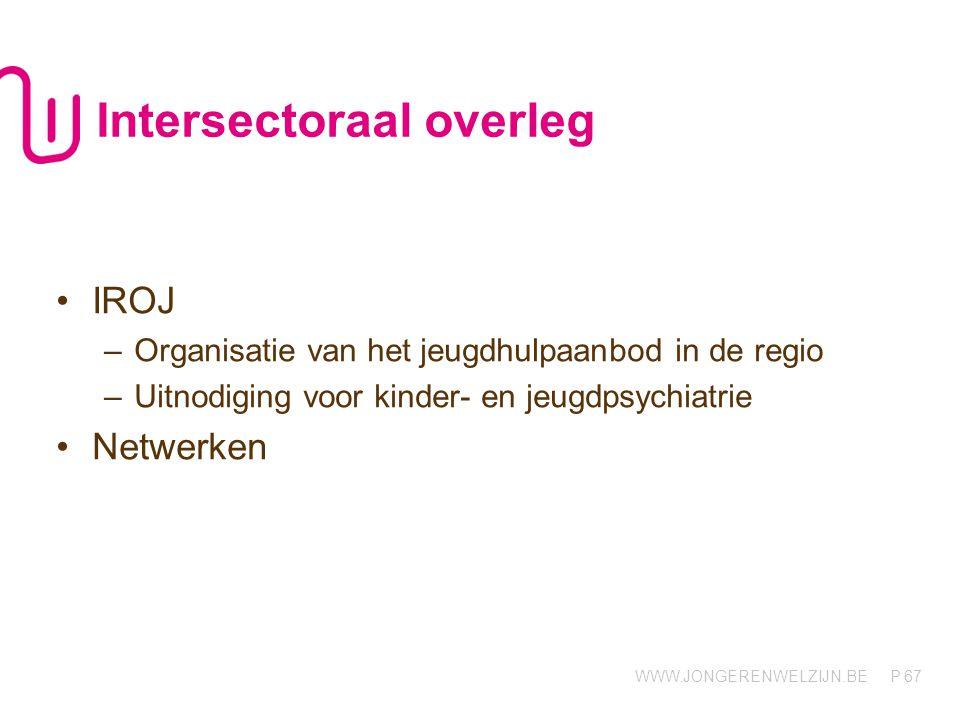 Intersectoraal overleg