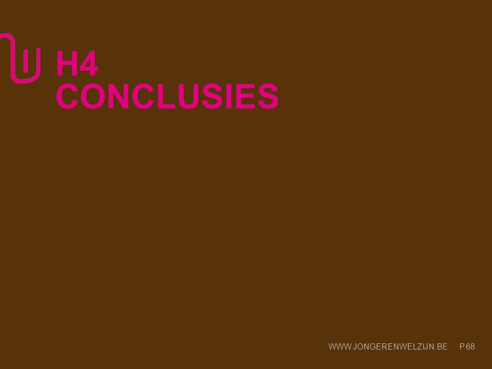 H4 CONCLUSIES