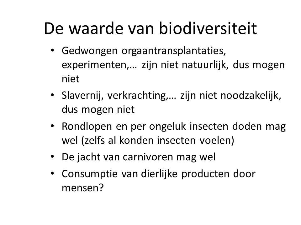De waarde van biodiversiteit