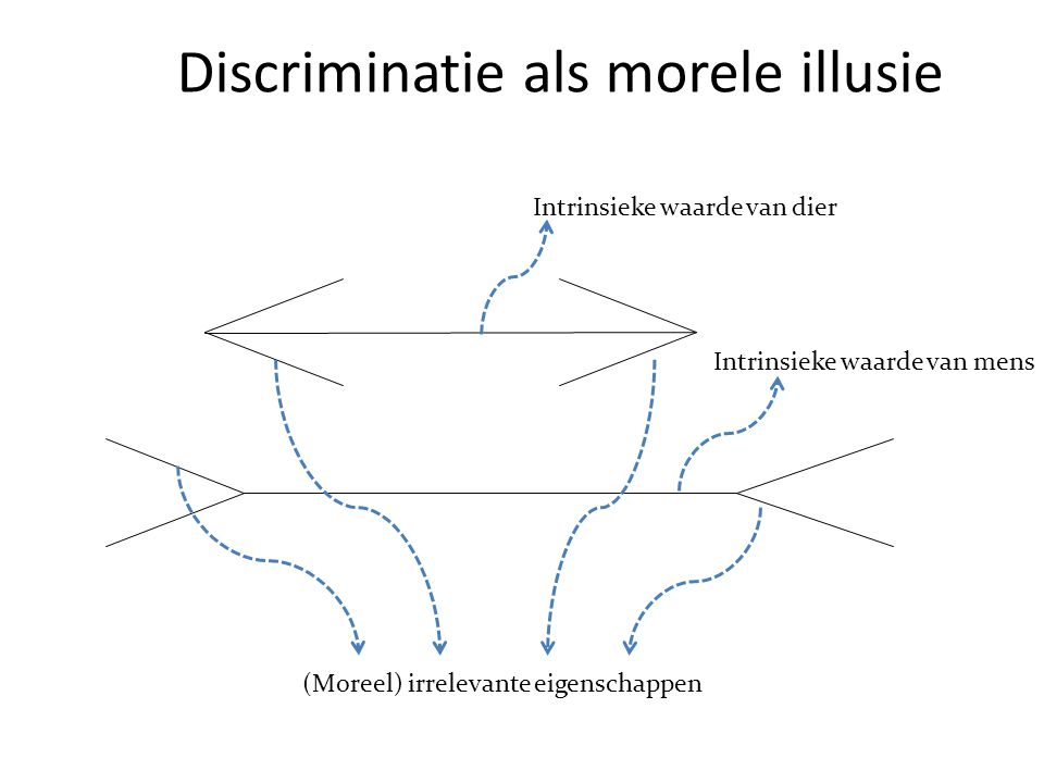 Discriminatie als morele illusie
