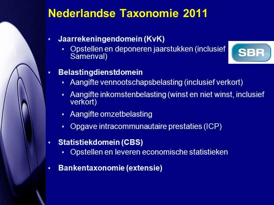 Nederlandse Taxonomie 2011