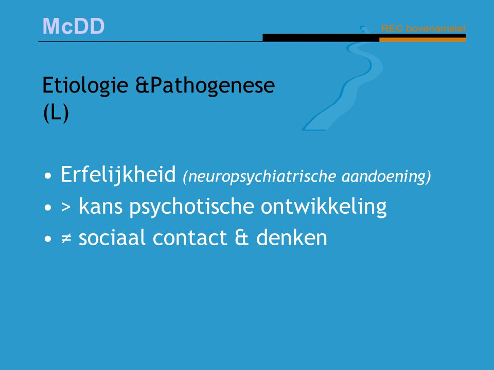 Etiologie &Pathogenese (L)