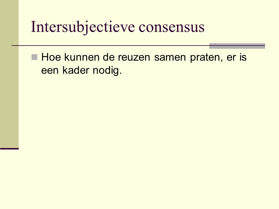 Intersubjectieve consensus