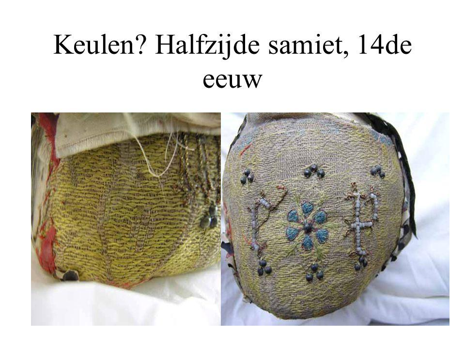 Keulen Halfzijde samiet, 14de eeuw