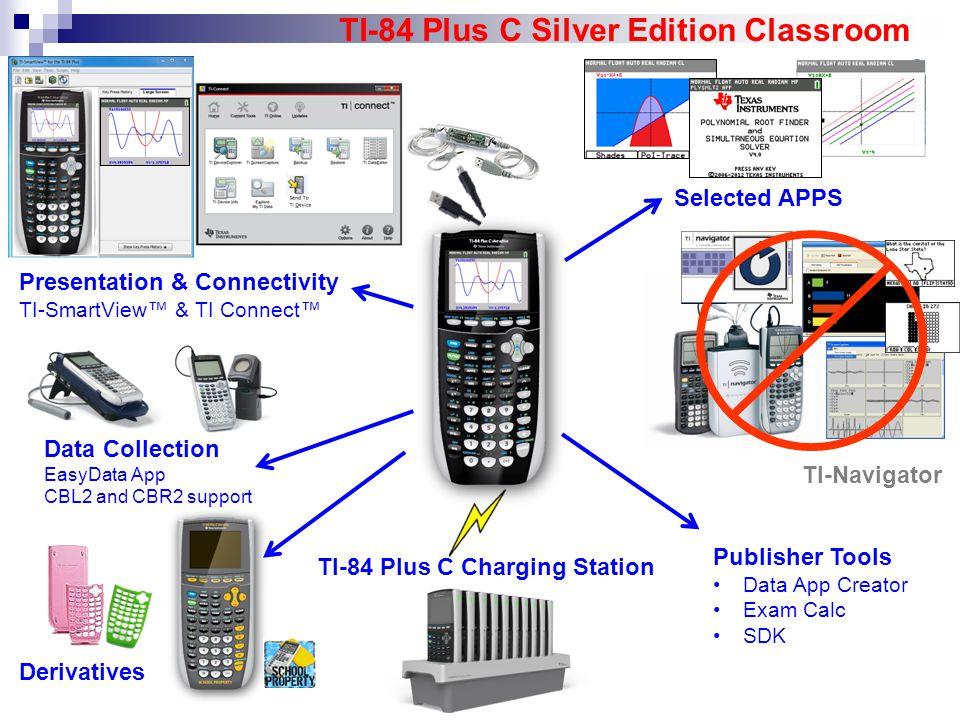 TI-84 Plus C Silver Edition Classroom