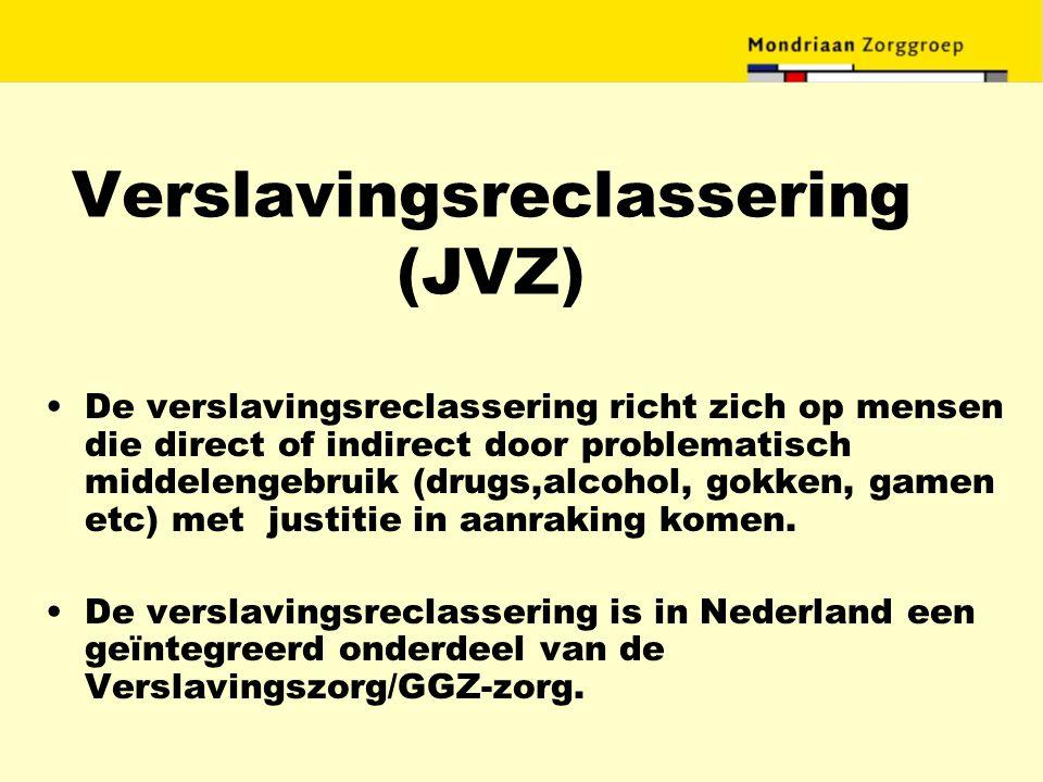 Verslavingsreclassering (JVZ)