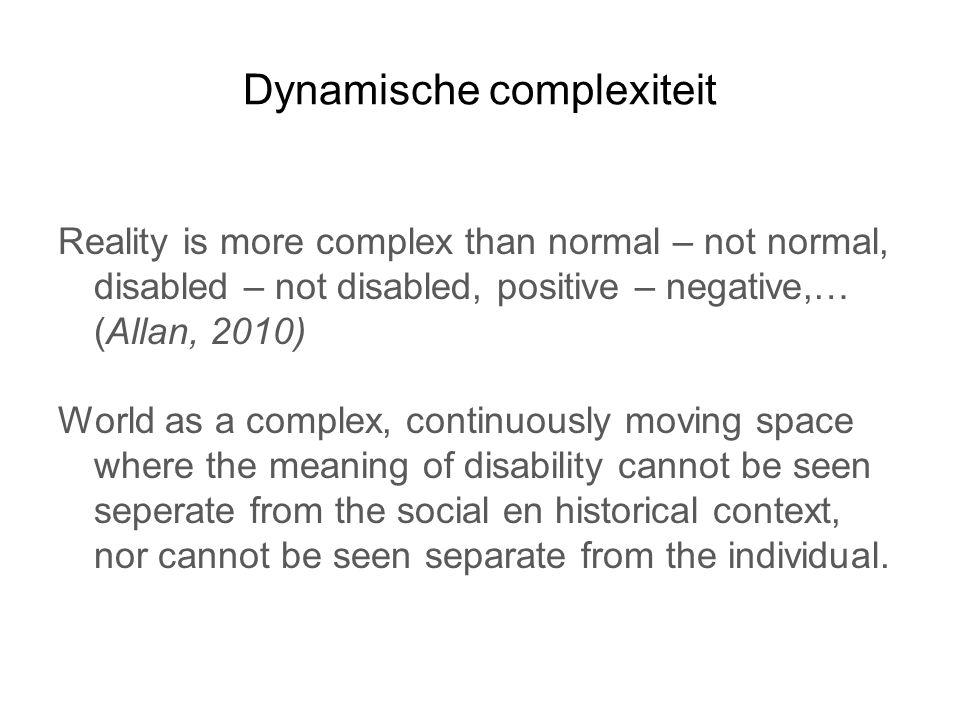 Dynamische complexiteit