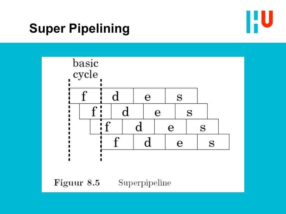 Super Pipelining