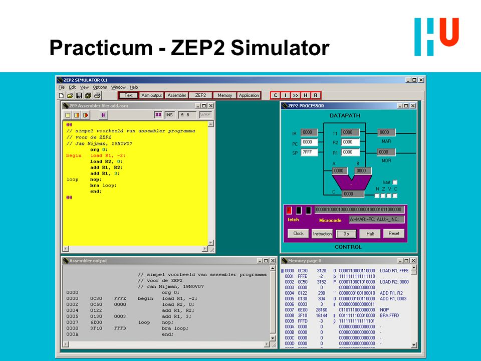 Practicum - ZEP2 Simulator