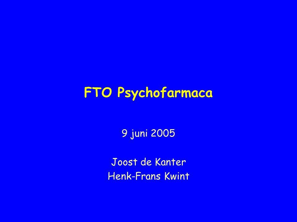 9 juni 2005 Joost de Kanter Henk-Frans Kwint