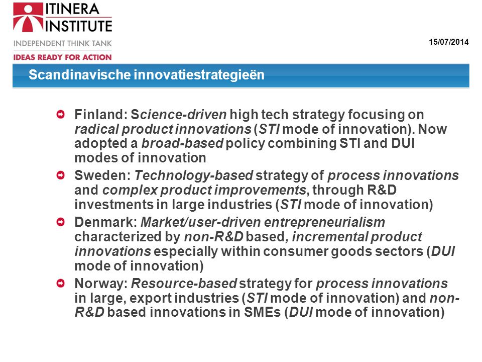 Scandinavische innovatiestrategieën