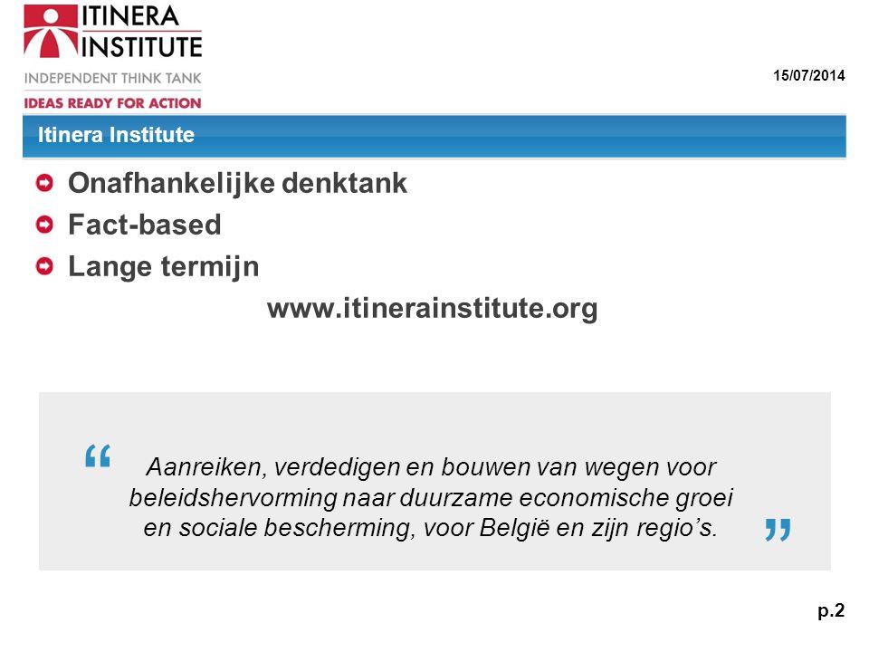 Onafhankelijke denktank Fact-based Lange termijn