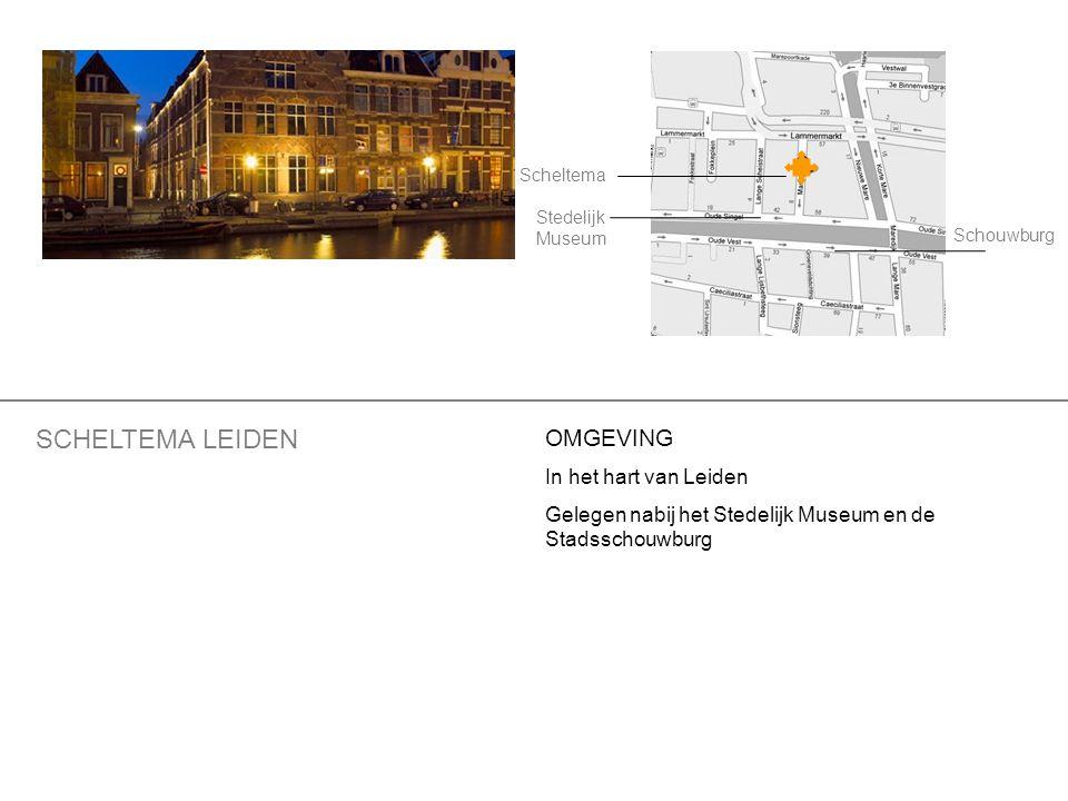 SCHELTEMA LEIDEN OMGEVING In het hart van Leiden