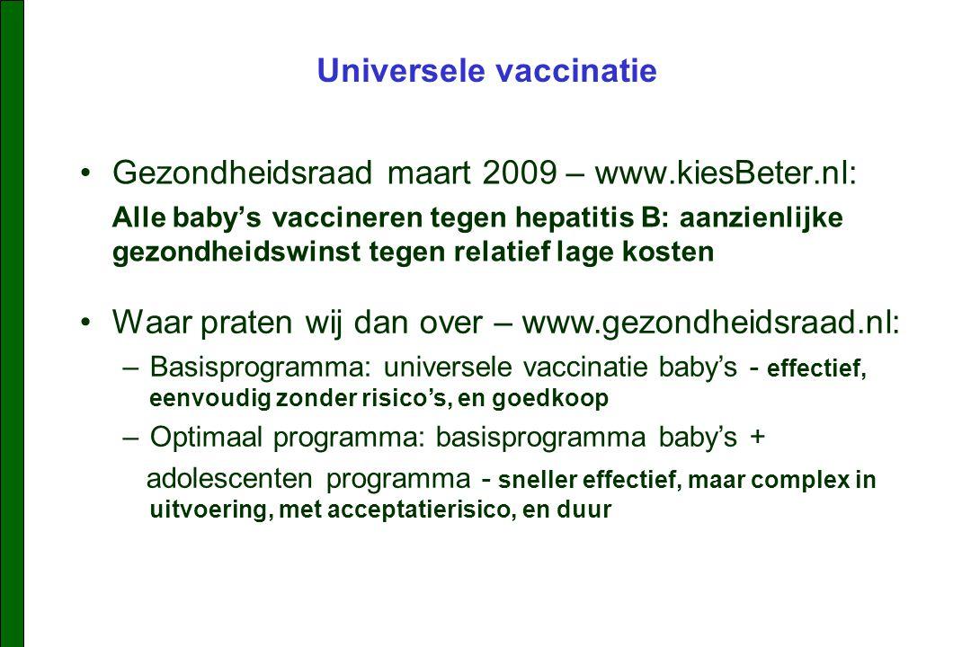 Universele vaccinatie