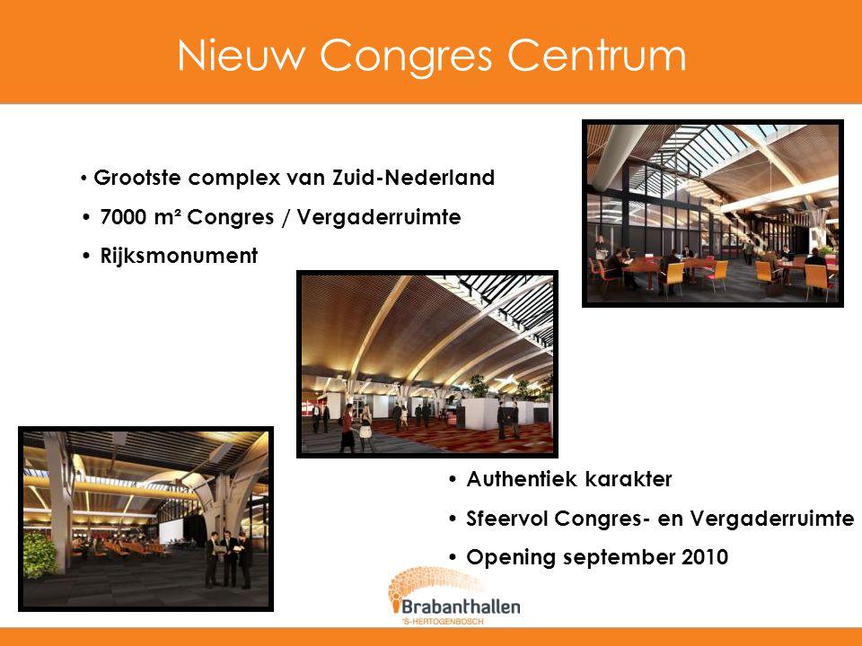 Nieuw Congres Centrum Grootste complex van Zuid-Nederland