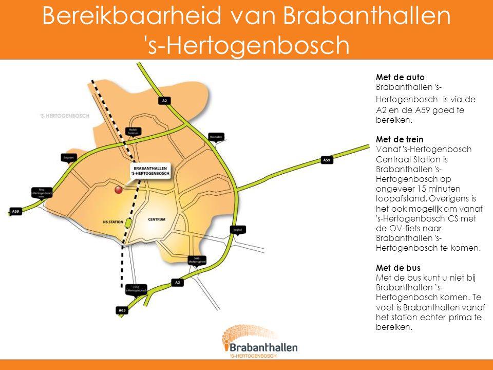 Bereikbaarheid van Brabanthallen s-Hertogenbosch