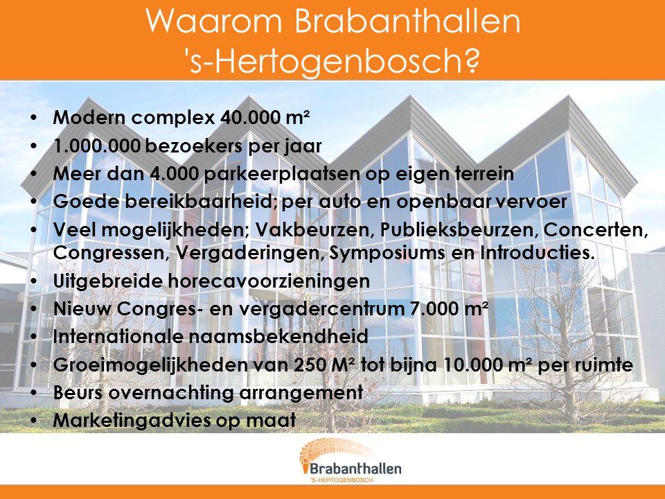Waarom Brabanthallen s-Hertogenbosch
