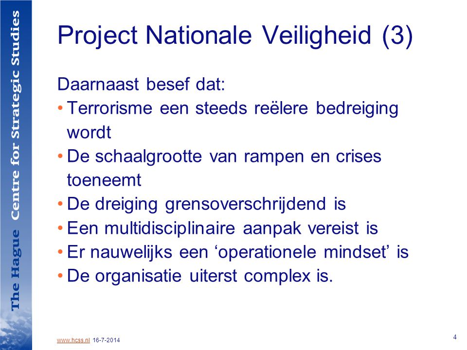 Project Nationale Veiligheid (3)