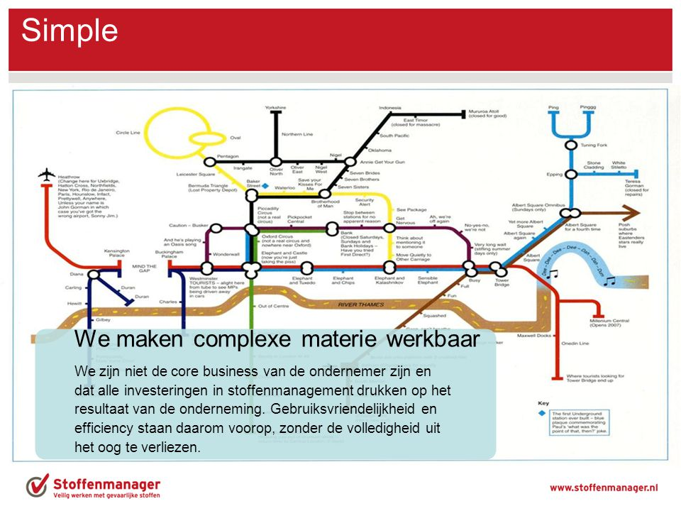 Simple We maken complexe materie werkbaar