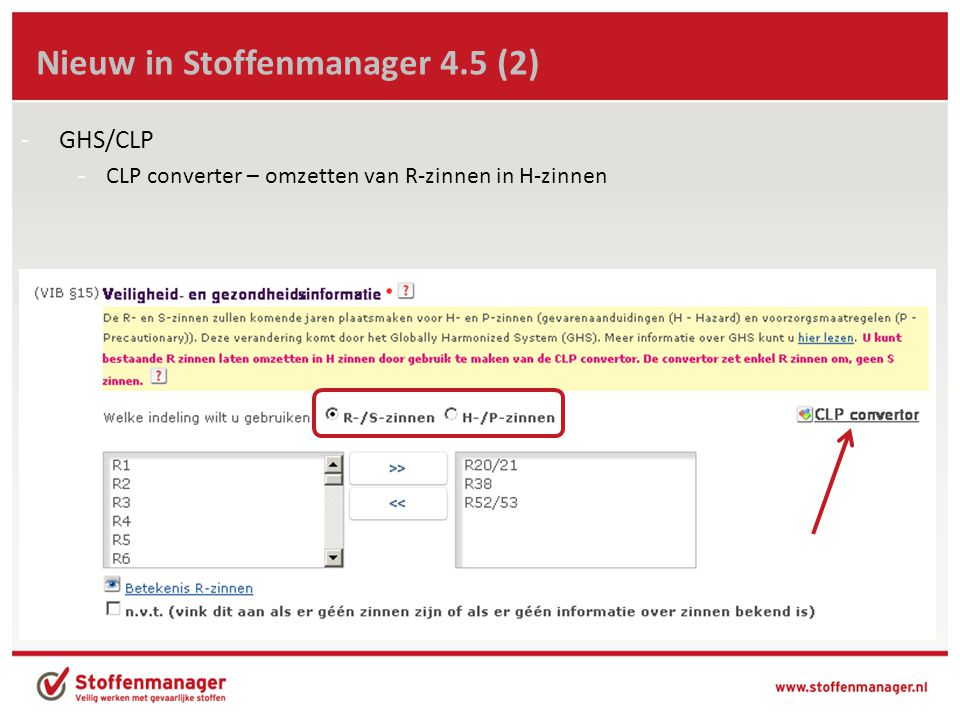 Nieuw in Stoffenmanager 4.5 (2)