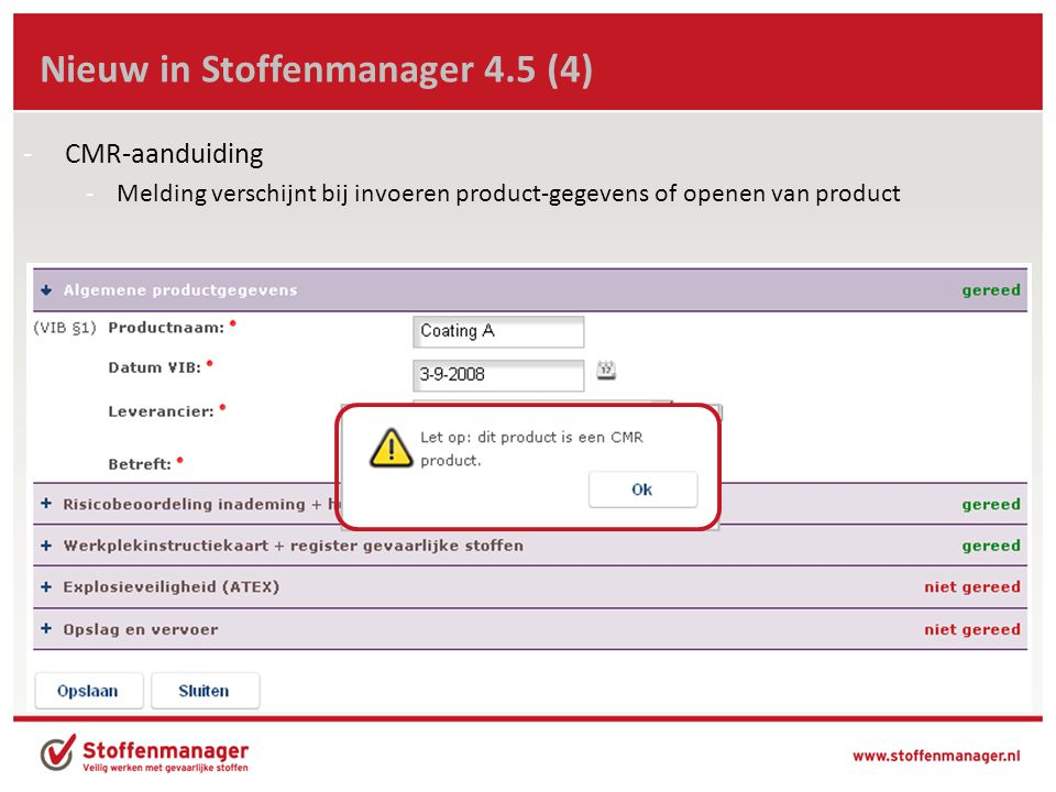 Nieuw in Stoffenmanager 4.5 (4)
