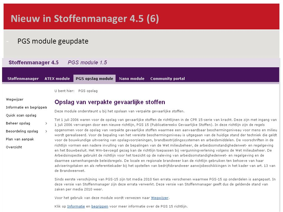 Nieuw in Stoffenmanager 4.5 (6)